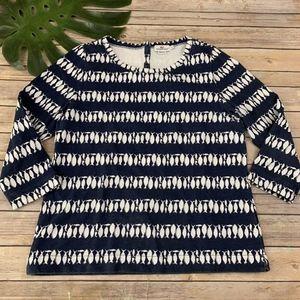 Vineyard Vines Fish Navy XS NWT Blue Shirt Top